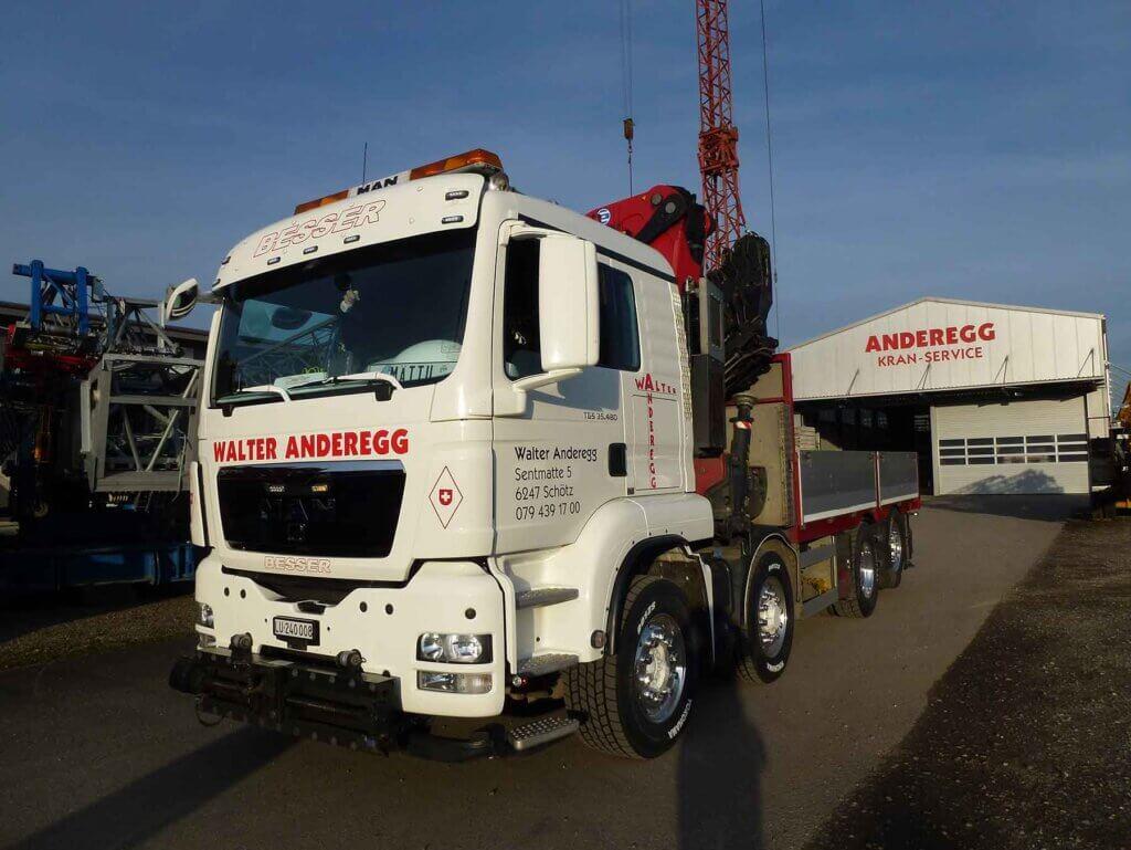 Lastwagen Man TGS
